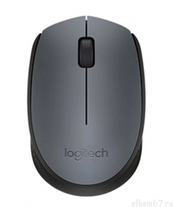 Мышь Logitech Wireless Mouse M170, Grey (910-004642)